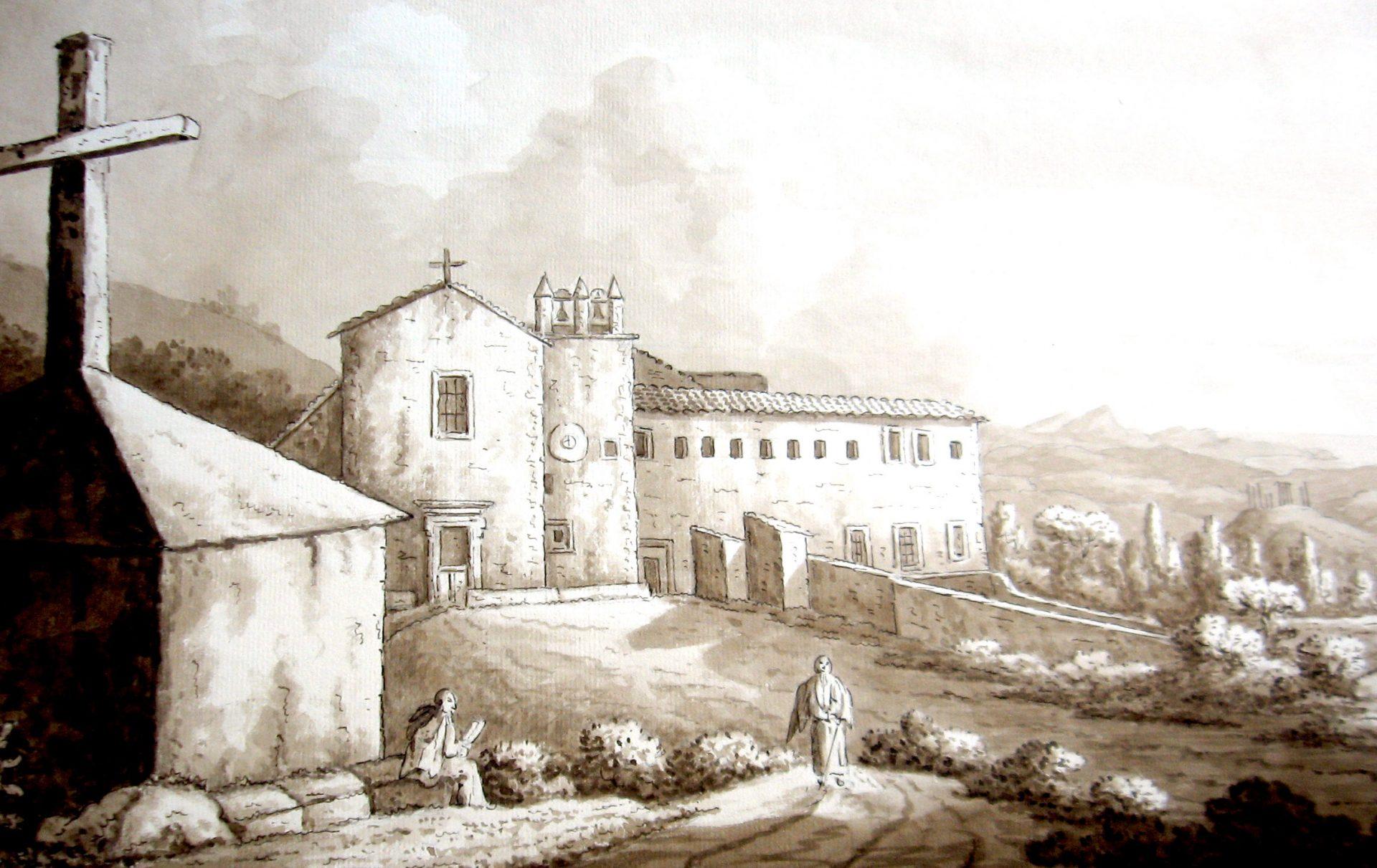 Convento dei Cappuccini a Girgenti con il tempio di Giunone Lacinia